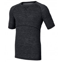 Odlo Mens' Crew Neck Short Sleeved Warm Baselayer